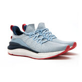 Xiaomi Mijia Sneakers 4 Machine Washable Ultralight Cloud Elastic PU Midsole 4D Fly Woven Fishbone Lock System Antibacterial Sports Running Shoes Men Sneakers