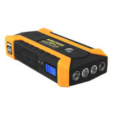 16000mAh LED Auto Jump Start Starter 4 USB Oplader Batterij Power Bank Booster 12V