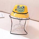 キッズ/リトルキッズ(1-4ys)リトルフロッグ子供保護帽子&キャップバケットハット