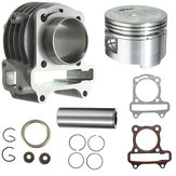 GY6 50cc do 80cc Big Bore Kit Pierścienie Cylinder 139 QMB 139QMB Skuter Motorower