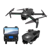 ZLL SG906 MAX GPS 5G WIFI FPV com câmera 4K HD EIS de 3 eixos EIS anti-vibração Gimbal para evitar obstáculo sem escovas Dobrável RC Drone Quadricóptero RTF