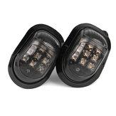 12V 9 LED Motorfiets Richtingaanwijzers Lampjes Universeel Amber