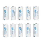 10Pcs Astrolux® C2650 5000mAh 3C 3.7V 26650 Li-ion Batería Sin protección 15A Celda de energía de litio recargable de alto rendimiento para linternas RC Juguetes Control remoto Gamepad