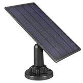 Wodoodporny panel słoneczny o wysokiej wydajności 5 V do kamery bezpieczeństwa z kablem ładującym 3 m / 10 stóp do CCTV IP Dome
