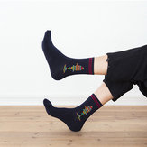 Cotton Middle Tube Socks Breathable Crew Socks