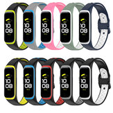 Bakeey Rubber Two-color Replacement Strap Smart Watch Band For Samsung Galaxy Fit 2