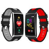 Kolorowy ekran Bakeey 0,96 'IP67 Monitor ciśnienia krwi Monitor fitness Inteligentny zegarek dla IOS Android