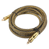 2M Toslink Male to Male Digital Optical Fiber Optic Audio Cable