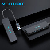 VENTION Adattatore HUB USB 3.0 a 4 porte USB Flash Unità con 4 * USB 3.0 per Macbook Mac Pro PC notebook XPS