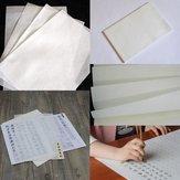 10枚の書類中国の書道ライスXuan紙Sumi-e吸入高吸盤
