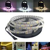 5 M SMD 5050300 LED Étanche RGBWW Bande Flexible Bande Lumière De Noël Décoration de La Maison Lampe DC12V