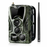 HC-801LTE 4G 16MP 1080P HD Wasserdichte SMS / MMS / SMTP-Jagd-Wildlife-Trail-Track-Kamera-Nachtversion
