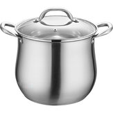 Kitchen Stainless Steel Soup Pot Stockpot Boiling Cooking Saucepan Pot