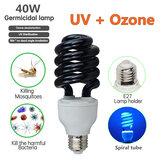 AC110V E27 40W UV Germicidal Disinfection Sterilization Light Ozone Ultraviolet Lamp Bulb