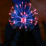 3 Inch Butterfly Plasma Ball Light Table Lamp Cool Magic Fun Science Electricity Desktop Decor