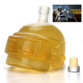 PUBG Playerunknown's Battlegrounds 3 Levels Helmet Wine Flagon Wine Pot Wine Jug High Borosilicate Glass Vodka Bottle Gift For Friends