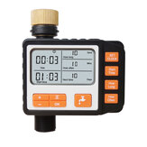 Automatic Irrigation Water Timer LCD Screen Sprinkler Controller Outdoor Garden