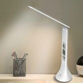 Bakeey LED Mini Bureaulamp Licht Oplaadbaar met Digital Clock Touch Dimbaar