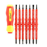 Drillpro 7pcs Electronic Isolated Hand Screwdriver Tools Accessory Set