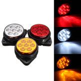 Araba Yuvarlak 7 LED Yan Işaretleyici Işıkları Gösterge Boşluğunun Değiştirilmesi Lamba Kamyon Römork