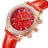 LIGE9812ElegantesDesignDatumsanzeigeDamen Armbanduhr