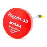 Pagode EMAX 3B 5.8G 90mm Longo RHCP W / MMCX por Maarten Baert FPV VTX Antena Vermelho