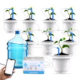 Trickle Irrigation Watering Device WIFI Remote Watering Pump Controller Indoor Plants Drip Water Pump Timer System