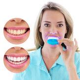 Отбеливание зубов Встроенные 5 светодиодов света Ускоритель света Мини светодиодные отбеливание зубов Лампа Отбеливание зубов Лазер