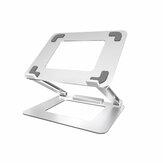 Suporte para laptop iDock N37-3 com interface USB 3.0 Suporte portátil Suporte de dissipação de calor de computador dobrável de liga de alumínio