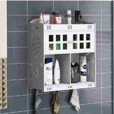 Kamar Mandi Kosmetik Penyimpanan Gantung Di Dinding Kabinet Desktop Organizer Box