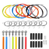 BIKIGHT 2m Bike Bicycle Front Rear Inner Outer Wire Gear Shifter Cable Cycling Repair Kit Multicolor
