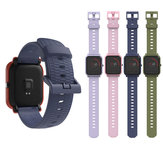 Mijobs 20mm Silicone Wrist Strap Replacement Watch Band for Amazfit Bip Pace Youth Smart Watch Non-original
