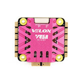 30.5x30.5mm T-motor Velox V45A 45A 3-6S BLheli_32 4In1 Brushless ESC DShot1200 w / 10V BEC Output untuk 170-450mm RC Drone FPV Racing