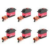 6PCS JX PDI-6221MG 20KG Stor Drejningsmoment Digital Standard Servo Til RC Model