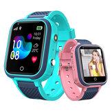 Bakeey Q10 Tela de toque de 1,4 polegadas para crianças medindo a temperatura corporal GPS LBS WIFI Rastreamento de localização de chamadas bidirecionais Câmera SOS IP67 Crianças à prova d'água Smart Watch Phone