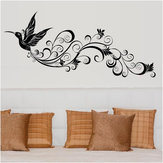 SK9082 Wall Sticker Birds Silhouette Sitting Room Bedroom Glass Background Decor Removeable Wall Stickers