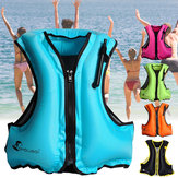 Manual Inflatable Life Jacket Sailing Boating Snorkeling Vest Swimming Survival Max Load 200kg