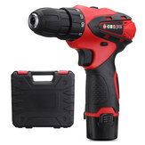 1500mAh 110V-220V Electric Screwdriver Lithium Power Dirver Drill Dual Speed DC12V With Case