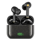 Havit i100 TWS Bluetooth-oortelefoon Draadloze oordopjes LED-display In-ear gaming-headsets Lage vertraging 9D Stereo Bass Sport Muziek Headset met oplaaddoos