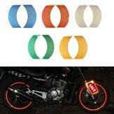 Motocicleta da bicicleta da borda do carro roda listra fita de vinil autocolante 6 cores