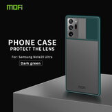 MOFI Anti-Hacker Peeping Slide Lens Cover Shockproof Anti-scratch Translucent Matte Silicone Protective Case for Samsung Galaxy Note 20 Ultra / Galaxy Note20 Ultra 5G
