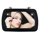 Car LED Makeup Mirrors Car Sun Visor HD Interior Mirror Car With Finger Touch Switch