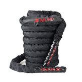XMUND Battle Rope Egzersiz Eğitimi Rope 30ft Uzunluk Egzersiz Rope Fitnes Kuvvet Eğitimi Evi Gym Outdoor Kardiyo Egzersizi, Çapa Kit Dahil