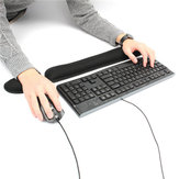 Keyboard Wrist Rest Pad and Mouse Wrist Rest Support Soft Memory Foam Ergonomic