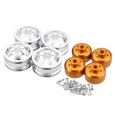 Metal Upgraded RC Car Wheel Hub For 1/16 WPL B14 B16 B24 C14 C24 B16 B36 JJRC MN RC Model Vehicle