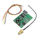 DIY 5.8G 72CH FPV AV Receiver RX Module Auto Search with LED Display For FPV Monitor Displayer