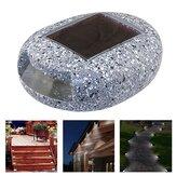 LED Solar Stone Light Outdoor Waterproof Garden Lâmpada de rua para decoração de quintal