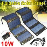 Składany wodoodporny 10W 5V z kablem USB 10 w 1 Panel słoneczny Sun Power Solar Cells Bank Pack do plecaka na telefon
