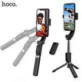 Hoco K14 Hansu Estabilizador Gimbal Portátil Inteligente Anti-vibração Portátil PTZ Suporte Sem Fio Tripé Selfie Varanda Para Smart Phones Smartphone