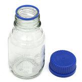 Frascos De Reagente De Vidro De Experiência Azul Parafuso Cap 100 ml 250 ml 500 ml 1000 ml